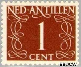 Nederlandse Antillen NA 211  1950 Type 'van Krimpen' 10 cent  Postfris
