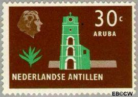 Nederlandse Antillen NA 283  1958 Landschappen  cent  Postfris