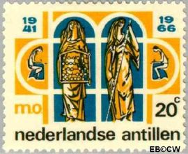 Nederlandse Antillen NA 374  1966 Middelbaar Onderwijs 6+3 cent  Postfris