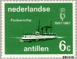 Nederlandse Antillen NA 380  1967 Vereniging 'Onze Vloot'  cent  Postfris