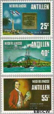 Nederlandse Antillen NA 528#530  1976 Onafhankelijkheid U.S.A.  cent  Postfris