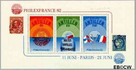 Nederlandse Antillen NA 722  1982 Philex-france  cent  Postfris
