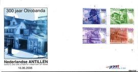 Nederlandse Antillen NA E384  2006 Otrobanda 106 cent  FDC zonder adres