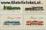 POR 1540#1543 Postfris 1981 Spoorwegen