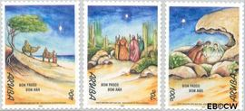 Aruba AR 240#242  1999 Bijbelse voorstellingen  cent  Postfris