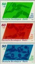 Berlin ber 621#623  1980 Voor de sport  Postfris