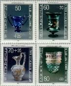 Berlin ber 765#768  1986 Glazen  Postfris