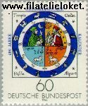 Bundesrepublik BRD 1155#  1983 Gregorianische kalender  Postfris