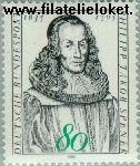Bundesrepublik BRD 1235#  1985 Spener, Philipp Jakob  Postfris