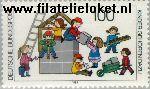 Bundesrepublik BRD 1435#  1989 Kinderen horen erbij  Postfris