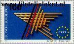 Bundesrepublik BRD 1644#  1992 Europese markt  Postfris