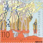 Bundesrepublik BRD 2105#  2000 Natuurparken  Postfris