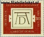 Bundesrepublik BRD 677#  1971 Dürer  Postfris