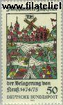 Bundesrepublik BRD 843#  1975 Belegering Neuss  Postfris