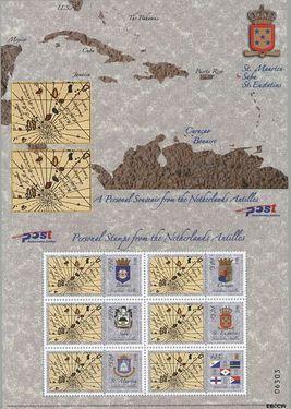 Nederlandse Antillen NA 1537  2004 Persoonlijke zegels- Eilanden 175 cent  Postfris