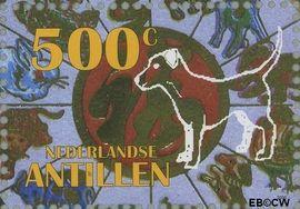 Nederlandse Antillen NA 1630a#  2006 Jaar van de Hond  cent  Postfris