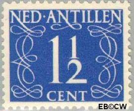 Nederlandse Antillen NA 212  1950 Type 'van Krimpen' 12 cent  Postfris