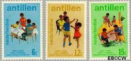 Nederlandse Antillen NA 486#488  1974 Verantwoord Ouderschap  cent  Postfris