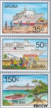 Aruba AR 197#199  1997 Cruises  cent  Postfris