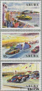 Aruba AR 336#338  2005 Autoracen  cent  Postfris