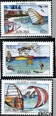 Aruba AR 363#365  2006 Hi-Winds  cent  Postfris