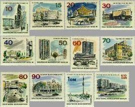 Berlin ber 254#265  1965 Nieuw Berlijn  Postfris