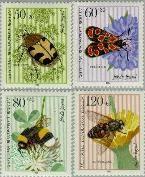 Berlin ber 712#715  1984 Insecten  Postfris