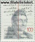 Bundesrepublik BRD 1423#  1989 Xaver, Franz  Postfris