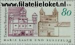 Bundesrepublik BRD 1671#  1993 Benedikterabdijen Maria Laach en Bursfelde  Postfris
