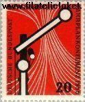 Bundesrepublik BRD 219#  1955 Europese conferentie spoorwegen  Postfris
