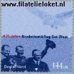 Bundesrepublik brd 2331#  2003 Eerste oost-west vlucht Atlantische Oceaan  Postfris