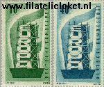 Bundesrepublik BRD 241#242  1956 C.E.P.T.- Stijger  Postfris