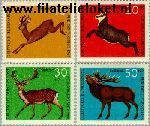 Bundesrepublik BRD 511#514  1966 Dieren  Postfris