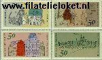Bundesrepublik BRD 860#863  1975 Europees Monumentenjaar  Postfris