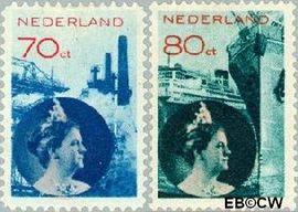 Nederland NL 236#237  1931 Economie   cent  Postfris
