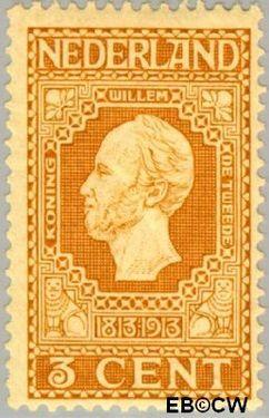 Nederland NL 91  1913 Onafhankelijkheid 3 cent  Postfris