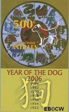Nederlandse Antillen NA 1630  2006 Jaar van de Hond  cent  Postfris