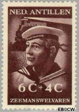 Nederlandse Antillen NA 240  1952 Zeemanswelvaren  cent  Postfris