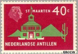 Nederlandse Antillen NA 285  1958 Landschappen 6+3 cent  Postfris