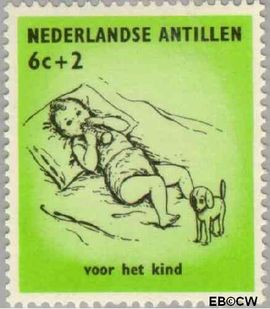 Nederlandse Antillen NA 318  1961 Kinderen  cent  Postfris