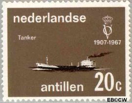 Nederlandse Antillen NA 382  1967 Vereniging 'Onze Vloot' 10+5 cent  Postfris