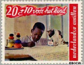 Nederlandse Antillen NA 402  1968 Kind en dier  cent  Postfris