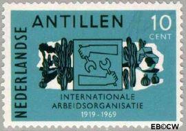 Nederlandse Antillen NA 414  1969 I.A.O. 12+6 cent  Postfris