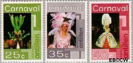 Nederlandse Antillen NA 531#533  1977 Carnaval 40+18 cent  Postfris