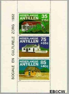 Nederlandse Antillen NA 734  1982 Woonhuizen  cent  Postfris