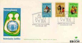 Nederlandse Antillen NA E84  1974 Verantwoord Ouderschap  cent  FDC zonder adres