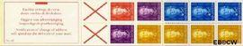 Nederlandse Antillen NA PB4B  1979 4x5, 1x10, 2x25 en 3x40 cent  cent  Postfris