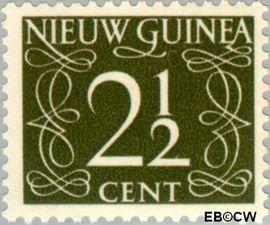 Nieuw-Guinea NG 3  1950 Type 'van Krimpen' 2½ cent  Gestempeld