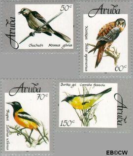 Aruba AR 213#216  1998 Vogels  cent  Postfris