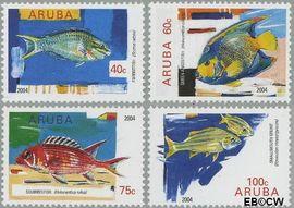 Aruba AR 320#323  2004 Vissen  cent  Postfris